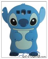 For Disney 3D Cartoon Animal Silicone Case for Samsung Galaxy S3 i9300