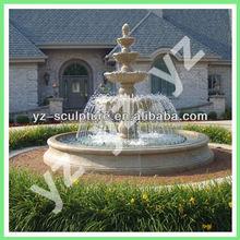 garden carving 3 tier fountain FTNN-B071