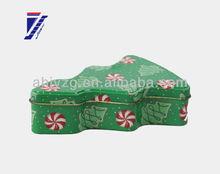tree shape Christmas promotion tin product