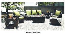 synthetic rattan sofa UGO-A006 modern luxury UGO garden furniture