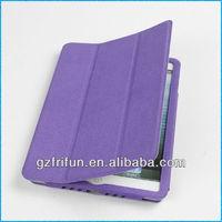 purple semi-enclosed elegant frame case for ipad mini