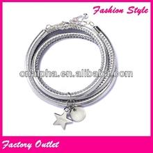 2014 best service bracelet wicker star gift