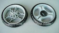3 Wheel Push Golf Trolley/shopping trolley wheel/baby walker wheel 7''
