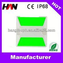 3M PC IP68 aluminium raised solar road reflective (five colors for choose)