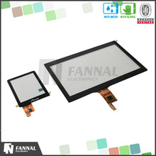 2.8 4.3, 5.0, 7.0 10.1 waterproof touch screen G+G, G+F+F structure