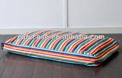 carnival dog hammock beds, strip design pet floor cushion