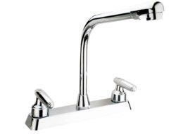 China OEM design factory Kitchen Faucet, Cold/hot Water Kitchen Faucet ABS plastic kitchen grohe faucet