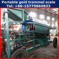 2014 de alta capacidad de pequeña escala de oro el barro de lavado de la máquina
