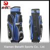 High quality custom golf sunday bag/leather golf cart bag