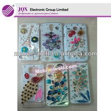fashion mobile rhinestone phone case for samsung galaxy s4