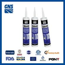silicone adhesive acid/acetic/acetoxy glass silicone sealant