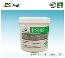 Heat transfer thermally conductive silicon
