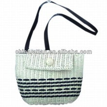 Paper Bag String Paper String Crochet Bag Fabric Linning