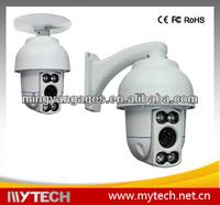 Mini Speed 10x zoom cctv auto motion tracking ptz Dome Camera