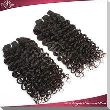 Virgin indian deep curly curl hair, 100% human hair