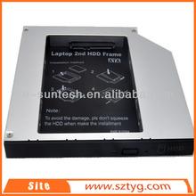 "2014 Hot New Product Pro Optical bay 12.7mm/2.5"" Hard Disk Drive Laptop Universal HDD Caddy HD1203-SA"