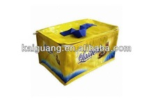 2014 promo pp nonwoven large cooler bags with zipper