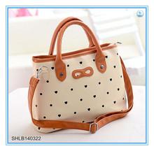 Summer Cute black dot women cool tote bags cross body handbags