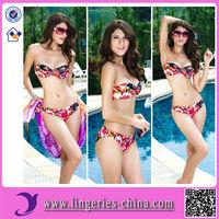 Fashion Sexy Asian Women In Bikini Swimwear