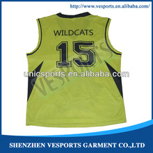 Plus size comfortable toddlers basketball jerseys