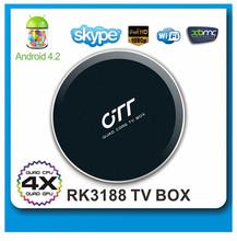 rk3188 quad core android 4.2 ott tv box