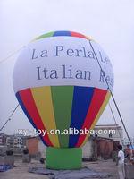 Italian customer ordered advertising inflatable balloons