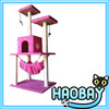 Four Layers With Lovely Hammock Under The Above Two Layer And Hang Drop Cat Scratching Trees House Cat Trees