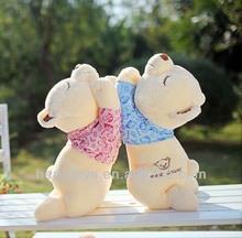 sleeping bear plush toy&Cute little stuffed toy&custom plush toys