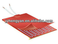 12v silicone rubber industrial heating pad waterproof