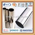 Ss304 de acero inoxidable tubos/tubos rhs