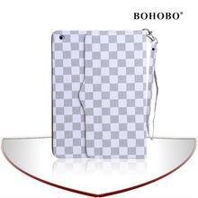 Smartphone leather mobile phone PU case for ipad mini