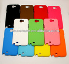 Galaxy note 2 back cover case.Smooth Rubberized hard back cover case for Samsung Galaxy Note 2 N7100