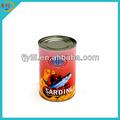 425g de sardines en conserve, aliments en conserve de masse