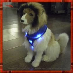 2014 new luxury mesh led dog waistcoat