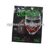 Top quality empty 3g joker potpourri bags with zipper