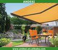 alluminio ombra tettuccio pieghevole tenda