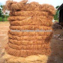 100% Natural Jute coir fibre price