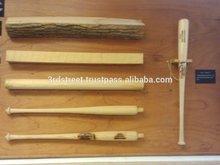 Maple wood baseball bats, custom made baseball bats, wooden baseball bats.