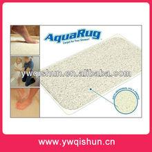 2014 New design waterproof bath mat anti slip AQUARUG carpet as seen on TV