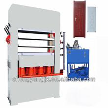 melamine for door laminating,door skin press machine,mdf door skin press