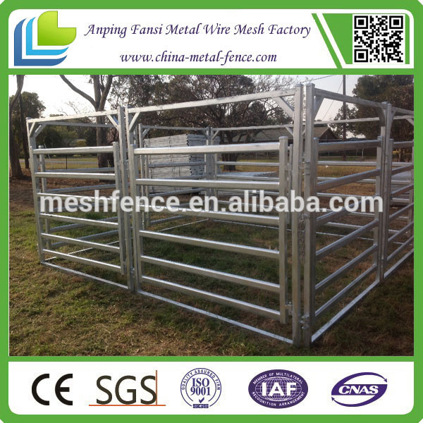 2015 hot sale strong galvanized beef cattle farming panel china supplier