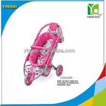 3 ruote bel bambino passeggino bambola giocattolo in alluminio passeggino