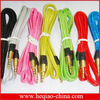Flat cable stereo optical 3.5mm jack audio cable made in china