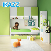 children kids junior bed/toddler trundle beds/childrens mid sleeper beds