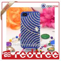 rhinestone plastic hard phone case back cover for mobile phones