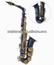 Blue Alto Saxophone/Alto Sax/Saxophon Wind instruments