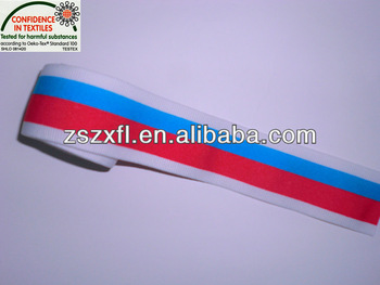 Hot sell and jacquard elastic webbing for underwear