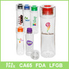 Single wall insulated water bottle straw