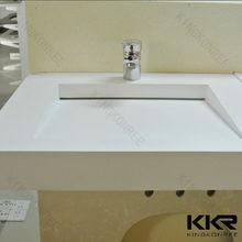 Wall hung hand washing basin / acrylic resin wash basin
