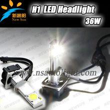 Best price Led headlight h1 h3 auto led head lamp 36w 3200lm Korea seoul chip led car bulbs H1 socket base